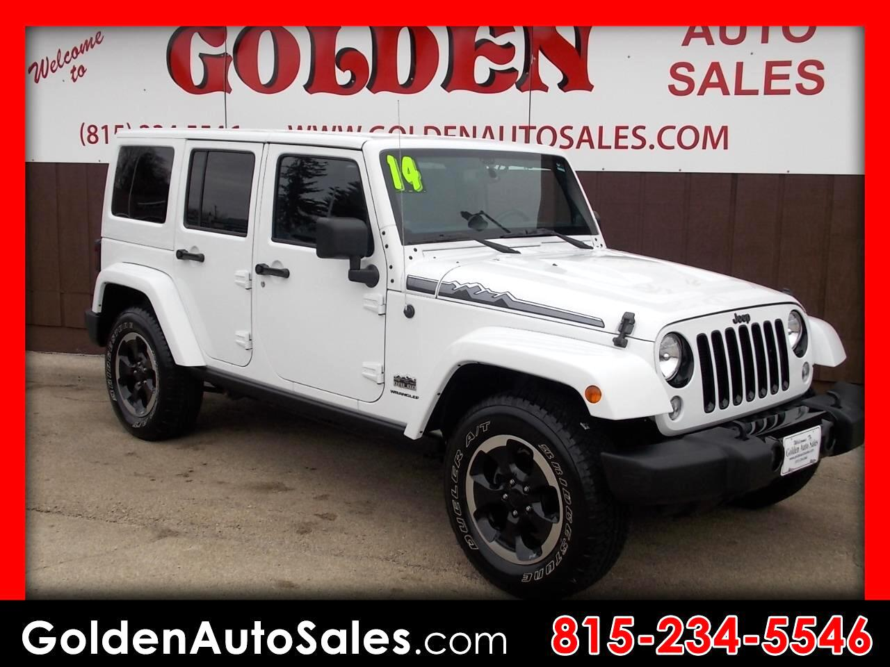 2014 Jeep Wrangler Unlimited Polar 4WD