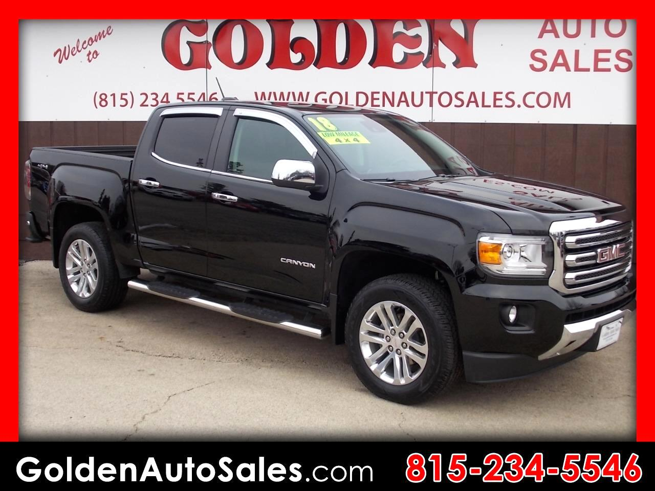 2018 GMC Canyon 4WD Crew Cab 140.5