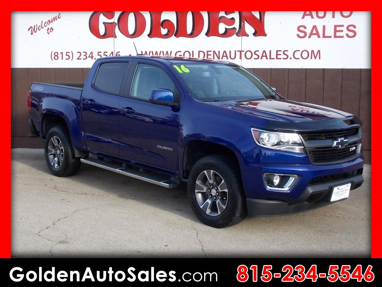 2016 Chevrolet Colorado Z-71 Crew Cab 4WD