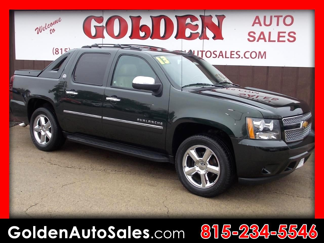 2013 Chevrolet Avalanche LTZ Black Diamond 4WD