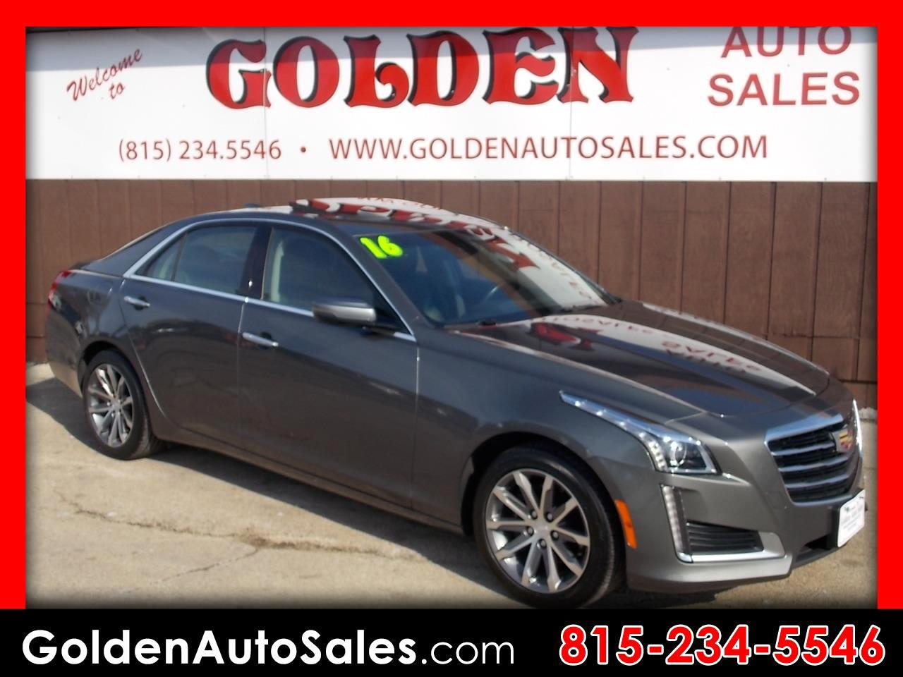 2016 Cadillac CTS 4dr Sdn 2.0L Turbo Luxury Collection AWD
