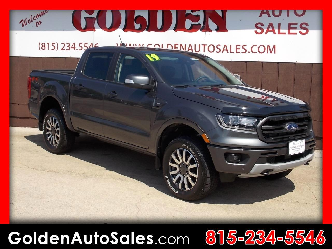 Ford Ranger LARIAT 4WD SuperCrew 5' Box 2019