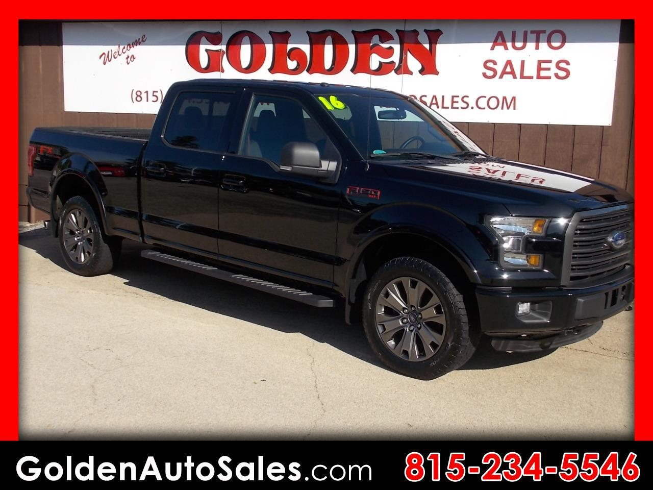 2016 Ford F-150 4WD Supercrew XLT FX4