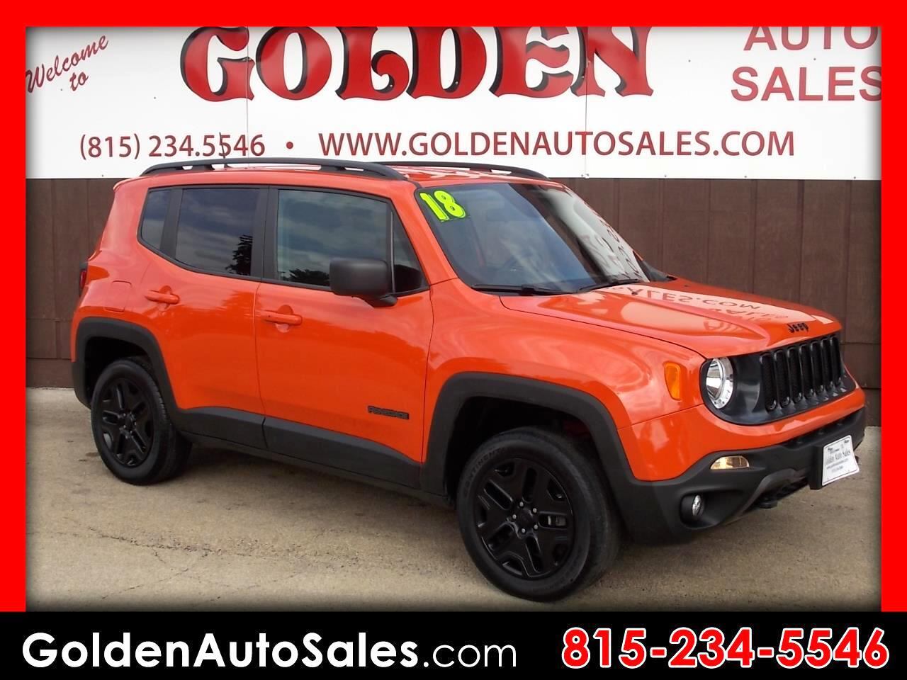 Jeep Renegade 4WD 4dr Sport 2018