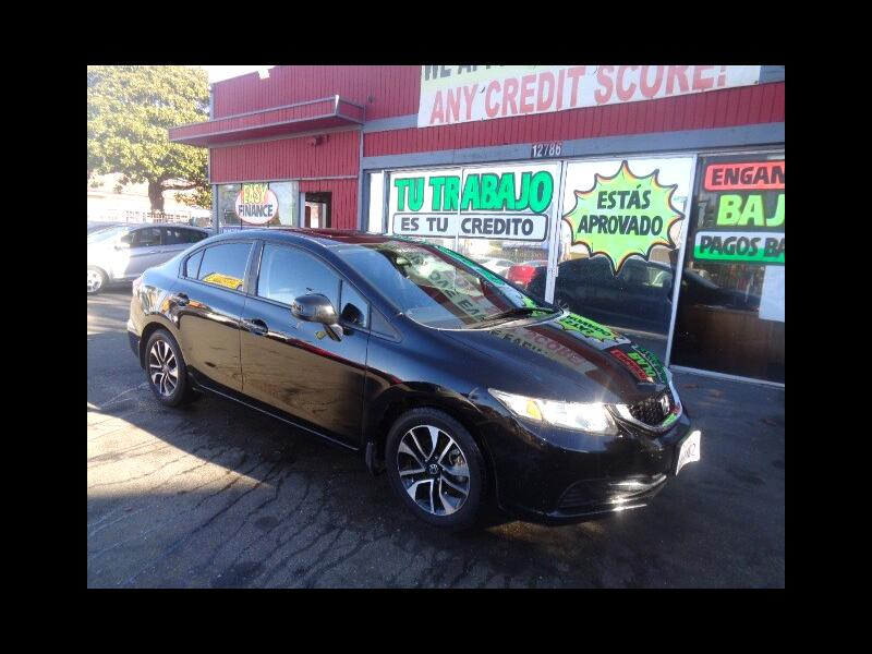 2013 Honda Civic WE APPROVE EVERYONE! BAD CREDIT NO CREDIT!