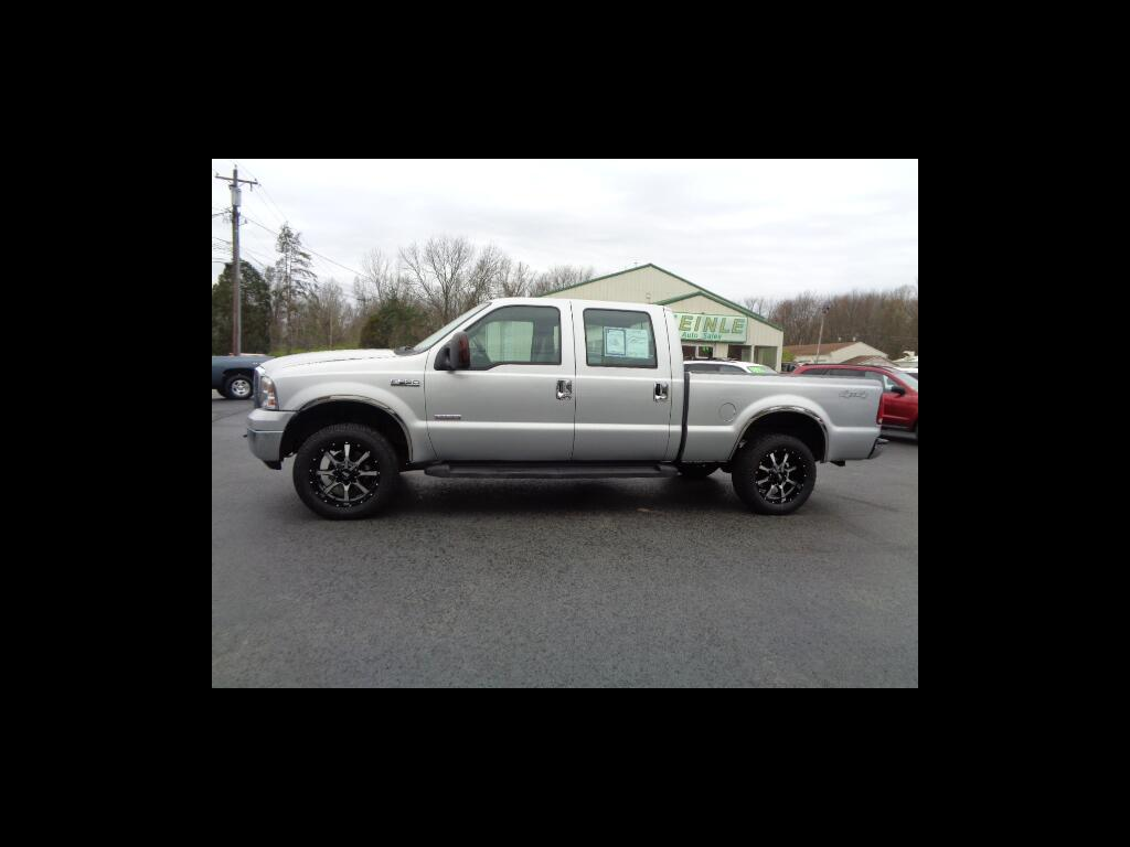 2006 Ford F-250 SD XLT SUPER CREW LONG BED 4WD