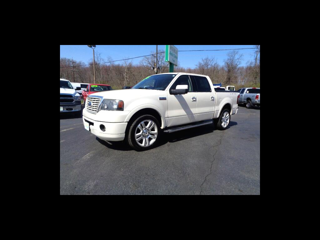 2008 Ford F-150 RARE LIMITED AWD CHROMES LEATHER ROOF NAV SHARP