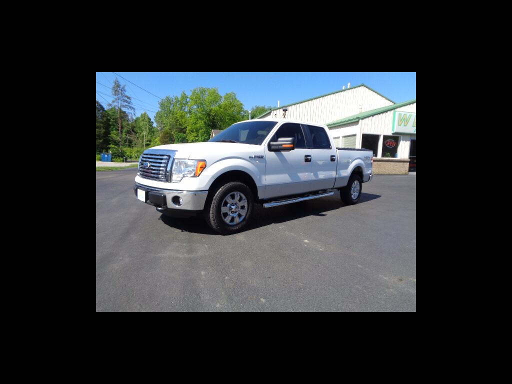 2011 Ford F-150 4X4 SUPERCREW 2 TONE CHROMES SHARP V8