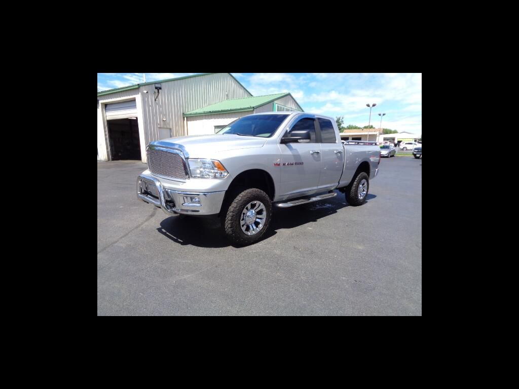 2012 RAM 1500 QUAD CAB HEMI LIFTED SHARP