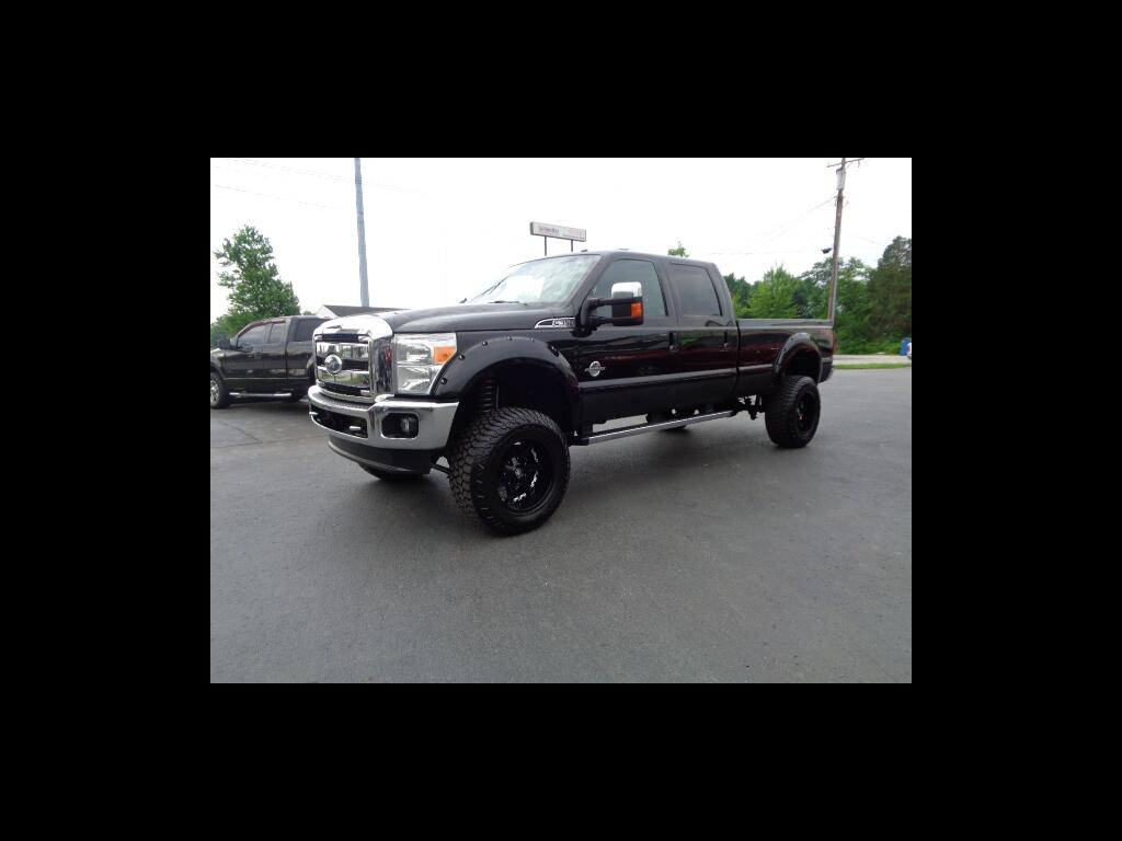 2011 Ford Super Duty F-350 SRW 4WD CREW CAB KING RANCH MONSTER TRUCK LOADED