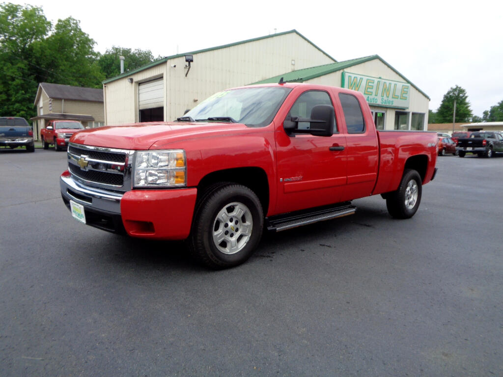 2007 Chevrolet Silverado 1500 4WD VMAX 6.0 CLEAN LOW MILES