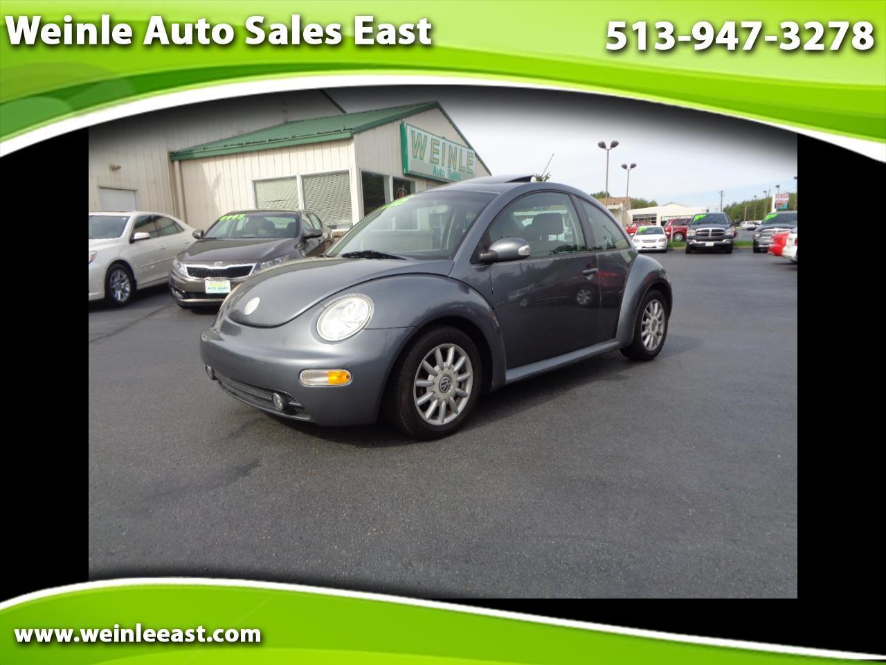 2004 Volkswagen New Beetle 2dr Cpe GLS Auto