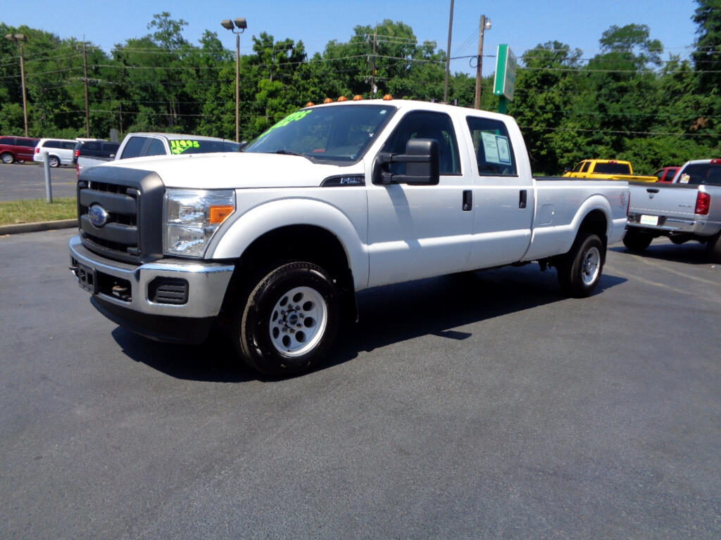 2014 Ford Super Duty F-250 SRW 4X4 SUPER CREW LONG BED CLEAN