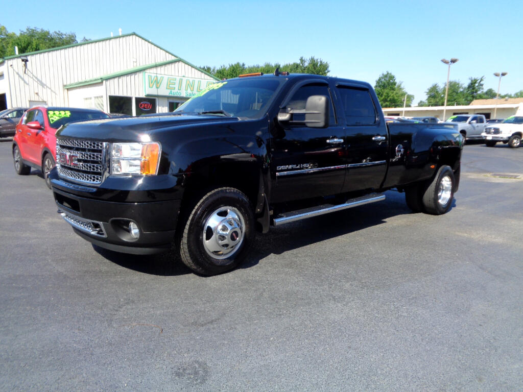 2013 GMC Sierra 3500HD DENALI 1 OWNER SOUTHERN TRUCK XCLEAN LOADED