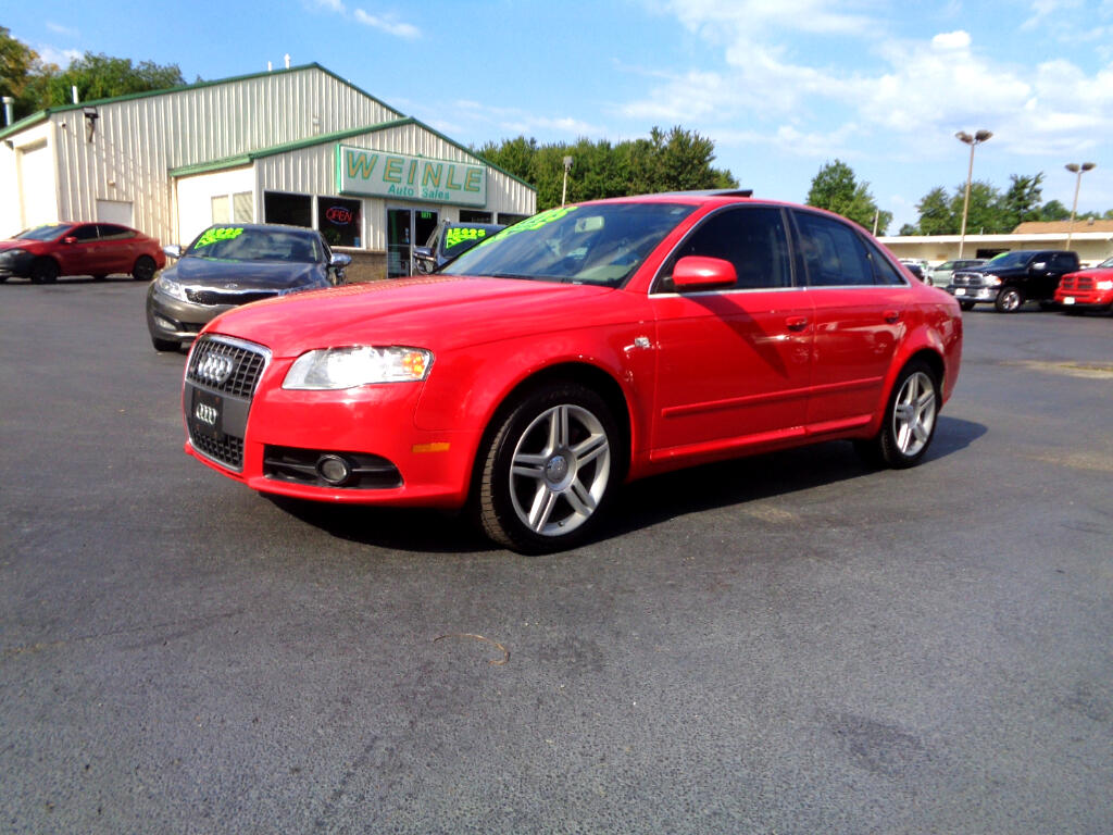 2008 Audi A4 4DR QUATTRO 2.0 LEATHER ROOF VERY CLEAN