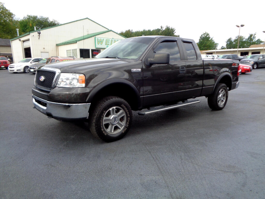 2007 Ford F-150 4WD SUPERCAB XLT CLEAN LOW MILES