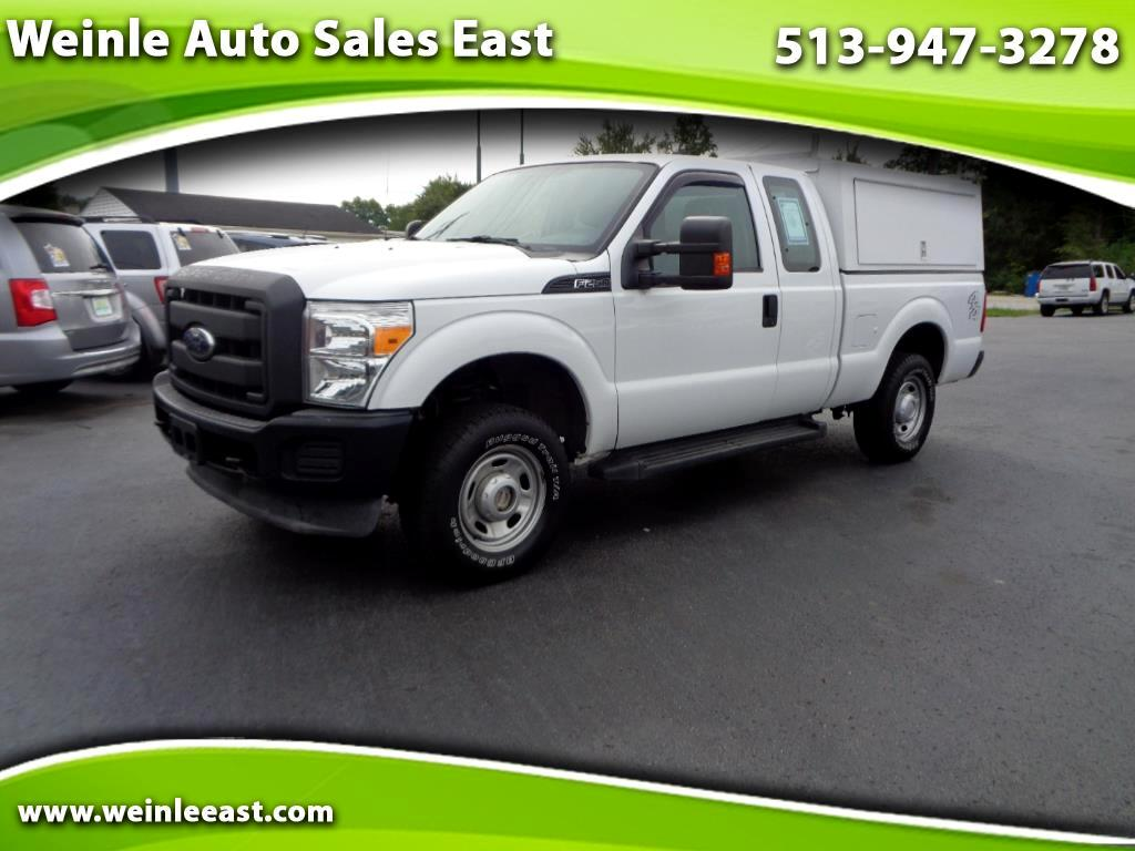2012 Ford Super Duty F-250 SRW 4WD SUPERCAB XL W/WORK BOX FULL POWER