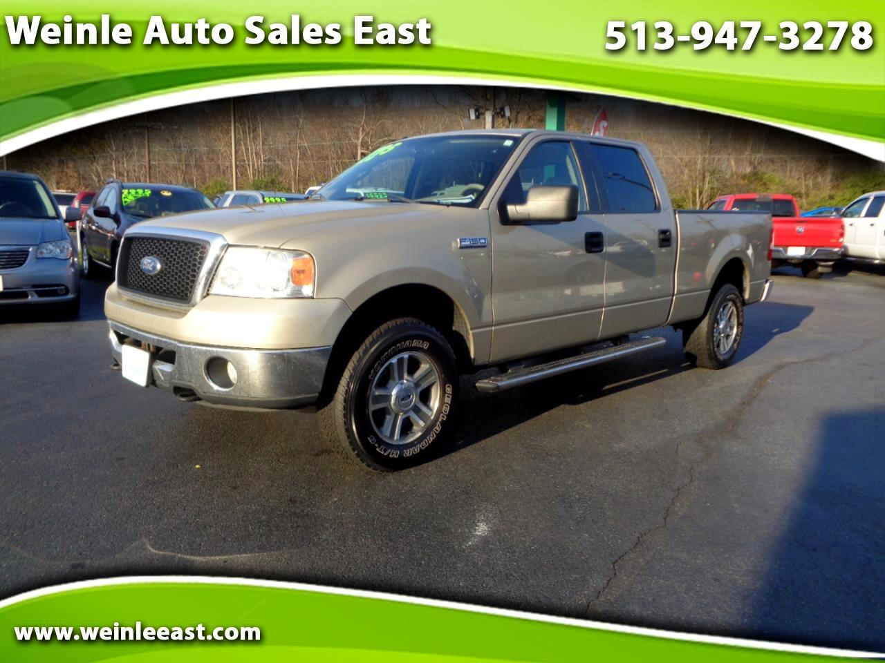 2007 Ford F-150 4WD SUPER CREW XLT LONG BED