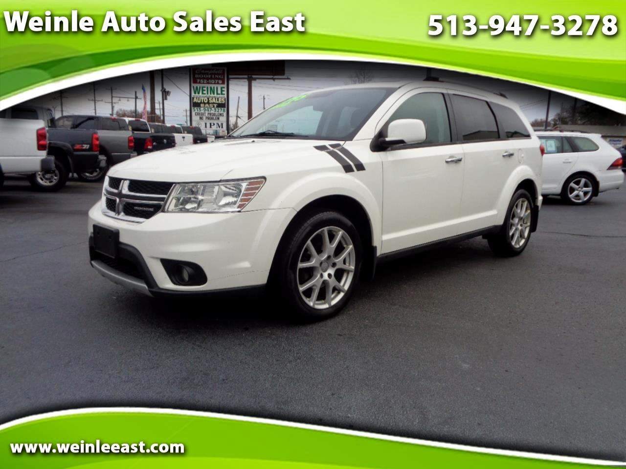 2012 Dodge Journey AWD 4DR CREW 3RD ROW SUNROOF