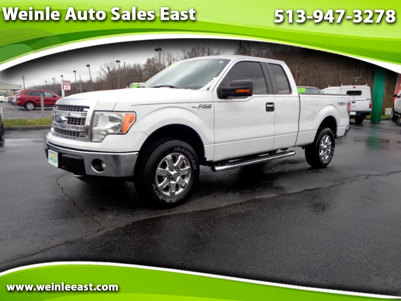 2014 Ford F-150 4WD SUPERCAB XLT FACTORY CHROMES