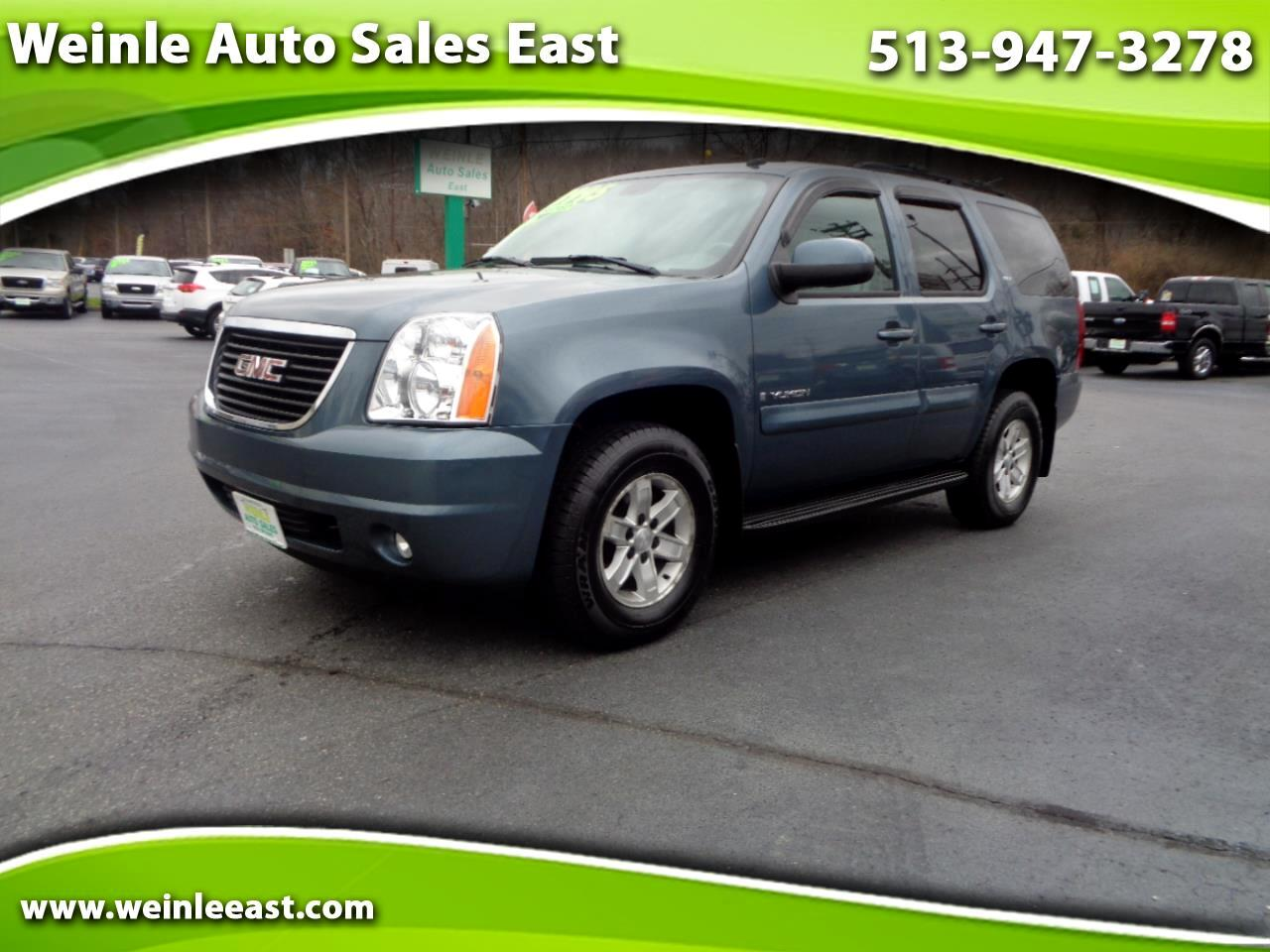2008 GMC Yukon 4WD SLT LEATHER VERY CLEAN 7 PASSENGER