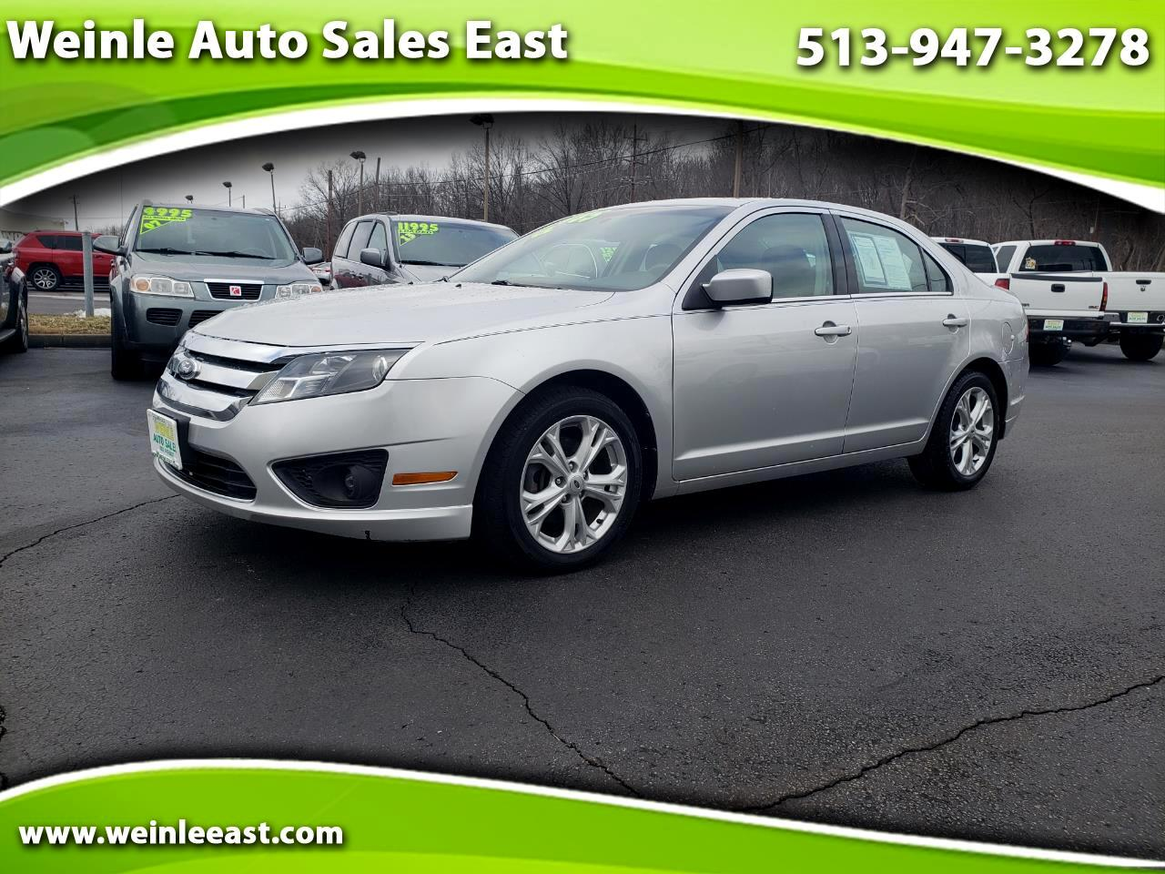 2012 Ford Fusion 4DR SE SUNROOF ALLOYS CLEAN