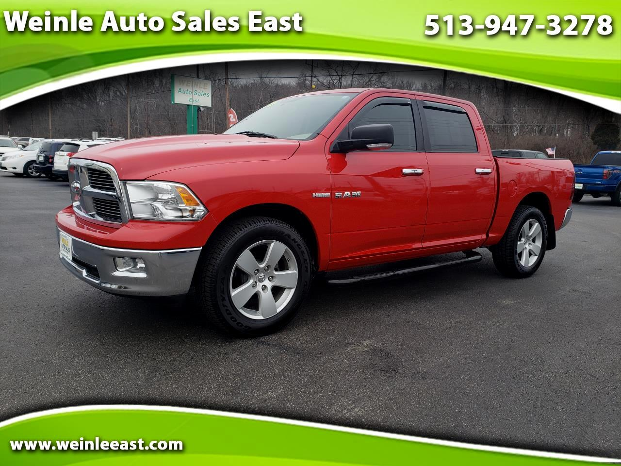 2009 Dodge Ram 1500 CREW CAB BIG HORN SLT W/SPORT PACKAGE SHARP