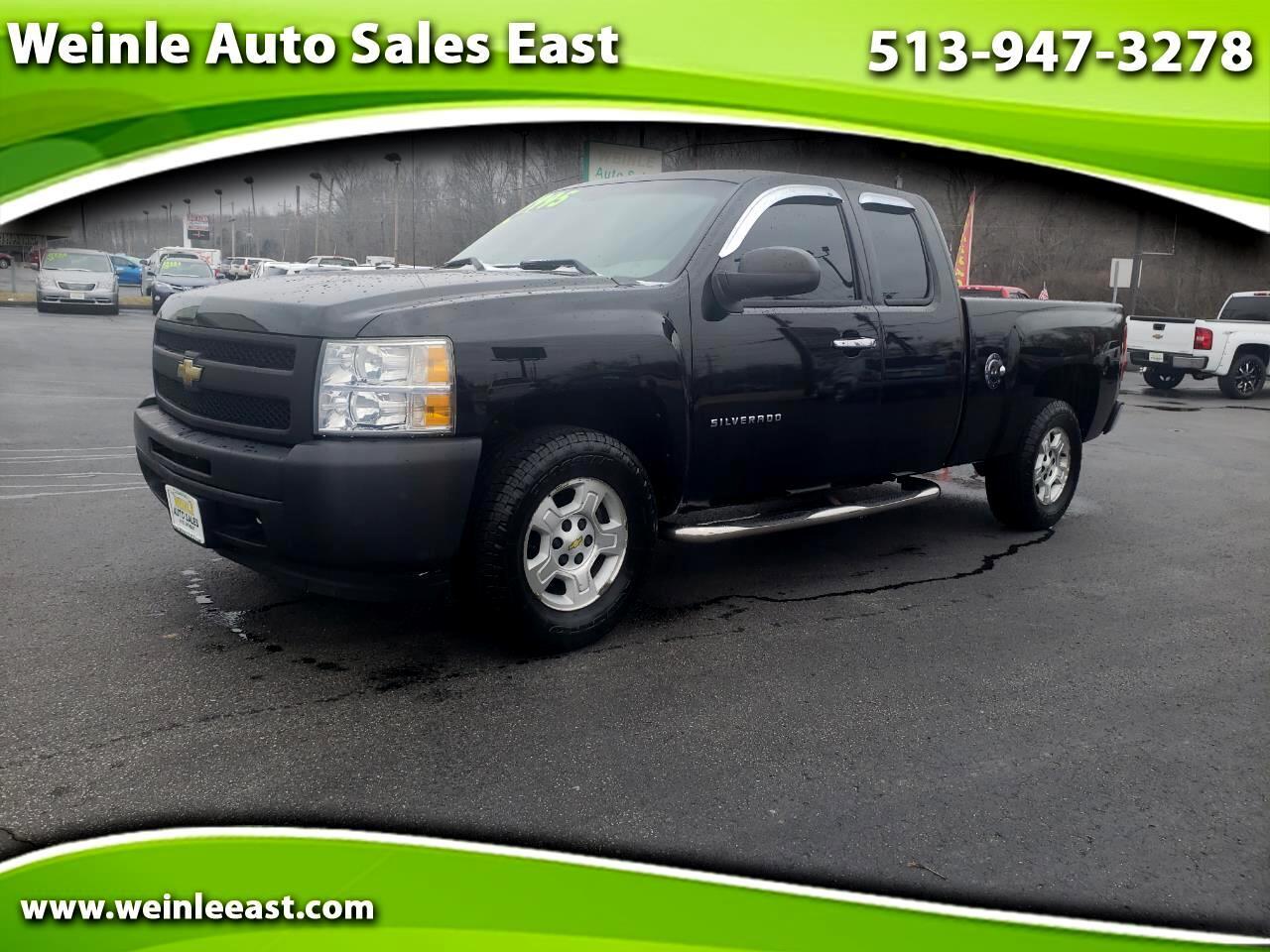 2011 Chevrolet Silverado 1500 2WD EXT CAB ALLOYS LOW MILES