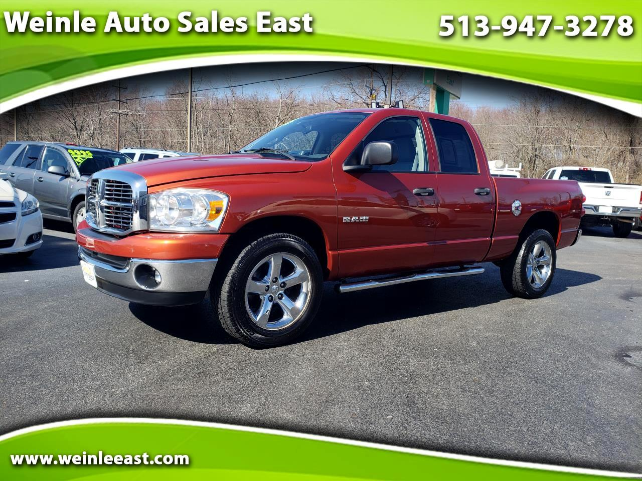 2008 Dodge Ram 1500 QUAD CAB BIG HORN LOW MILES SHARP