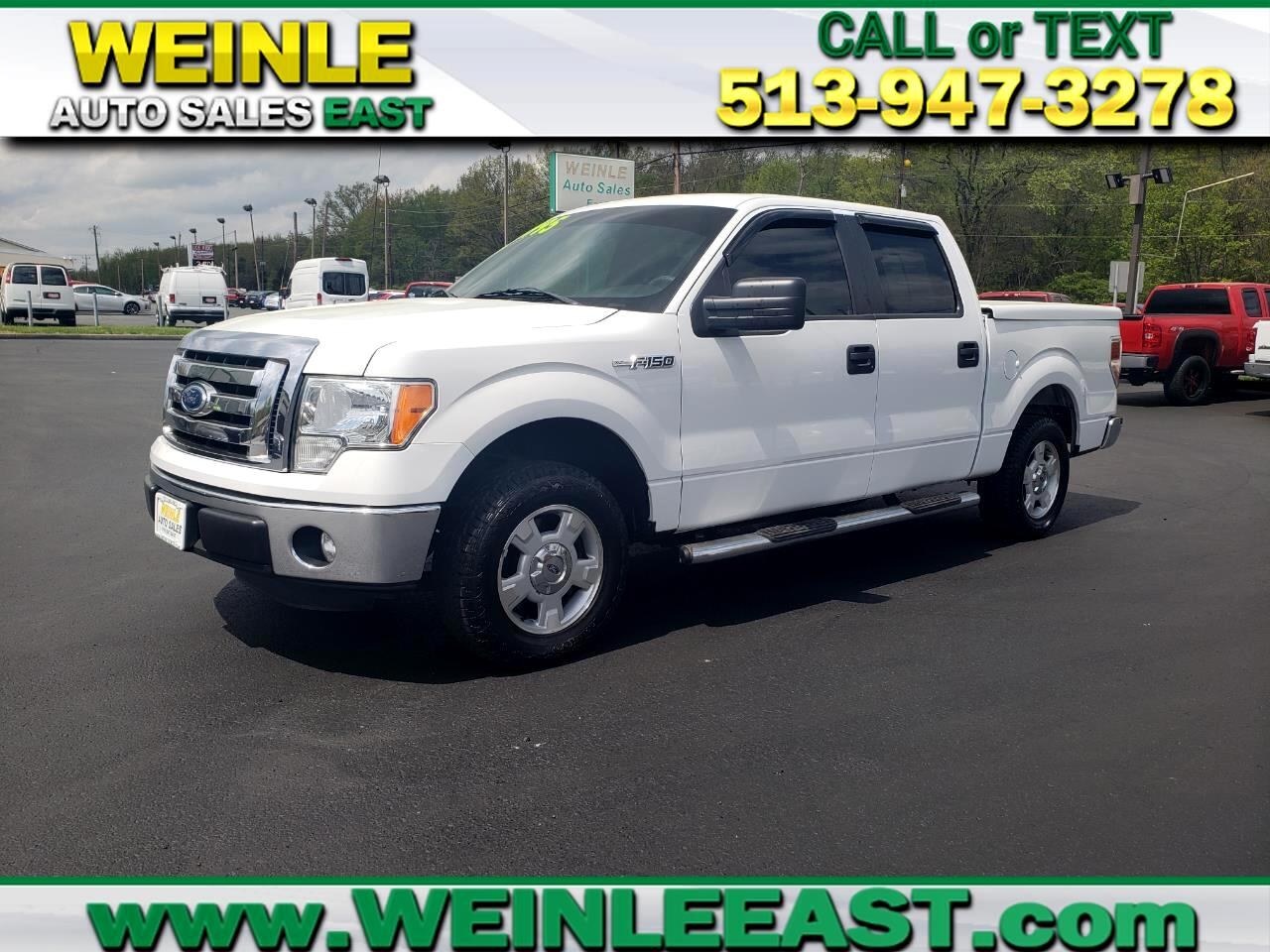 2012 Ford F-150 SUPERCREW V8 XLT CLEAN