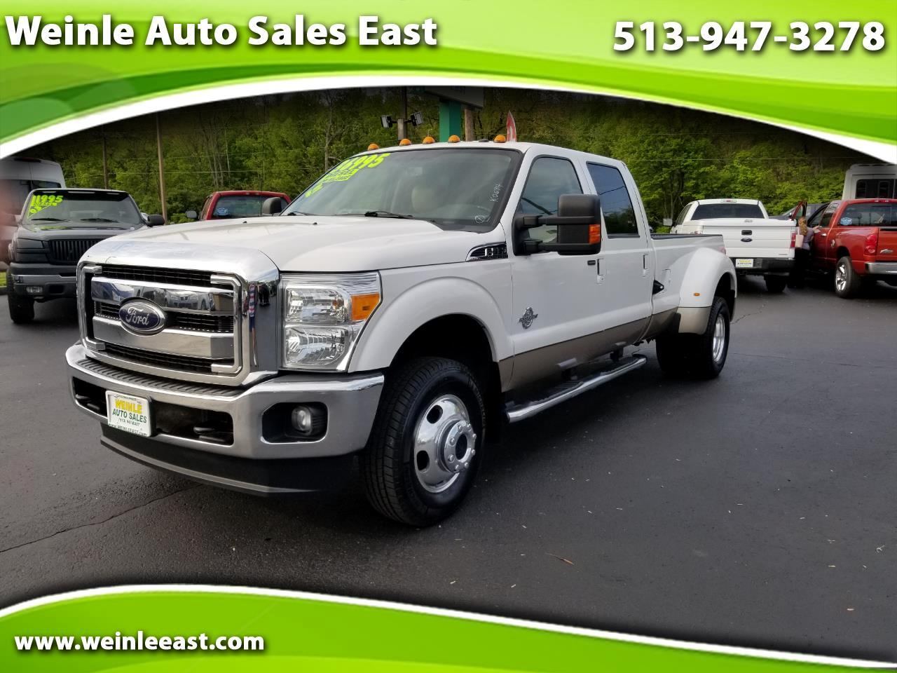 2012 Ford Super Duty F-350 DRW 4X4 Crew Cab Lariat Dually
