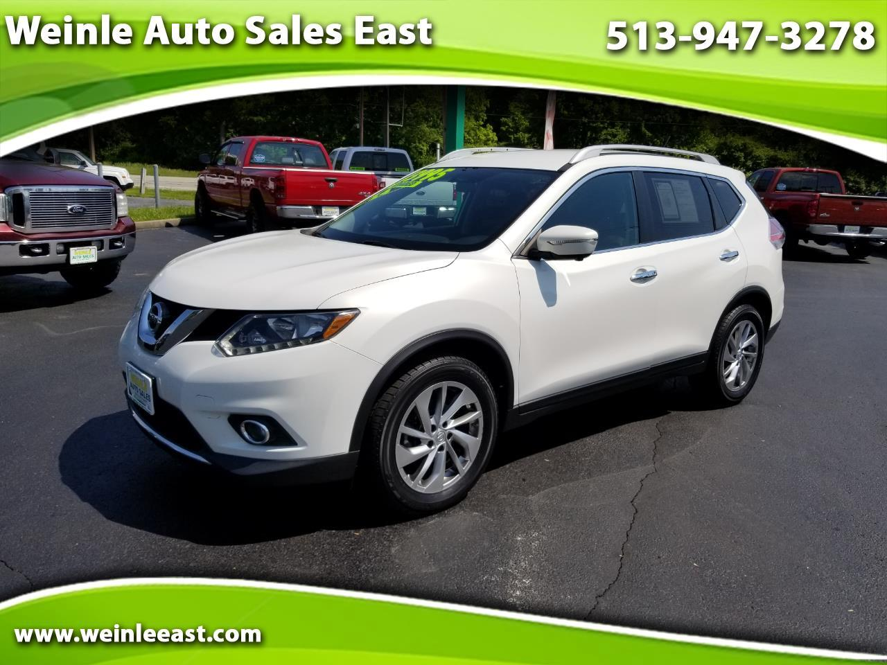 2014 Nissan Rogue FWD 4dr SL
