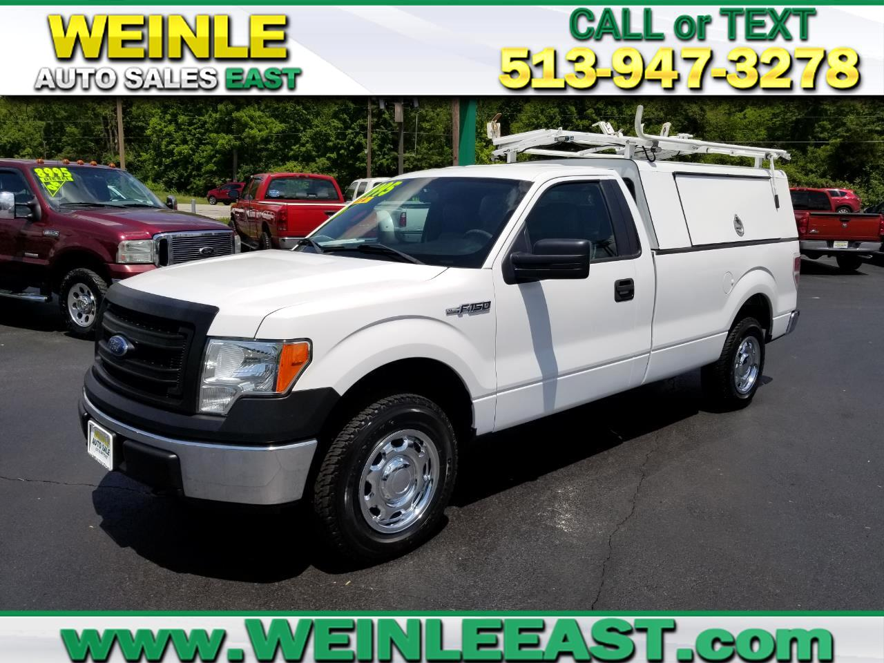 2013 Ford F-150 4WD REG CAB W/WORK BOX 8FT BED