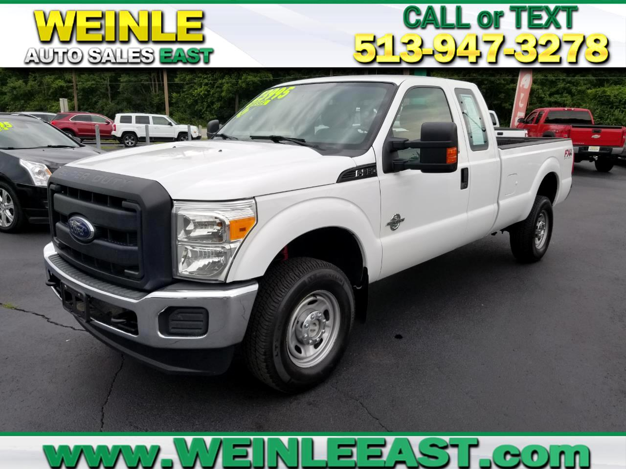 2012 Ford Super Duty F-350 SRW 4WD SUPERCAB 6.7 DIESEL LONGBED CLEAN