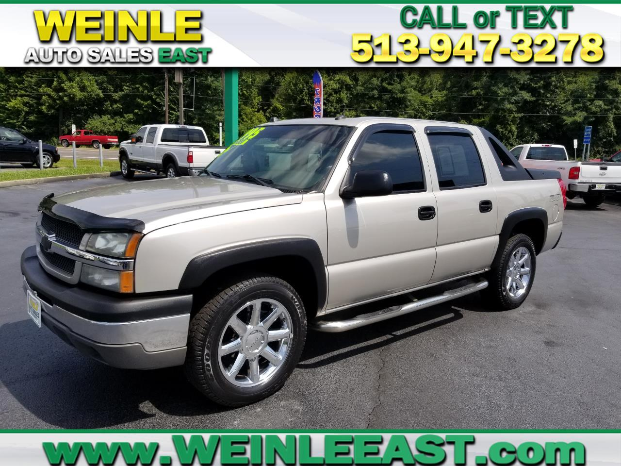 "2004 Chevrolet Avalanche 1500 5dr Crew Cab 130"" WB 4WD Z71"