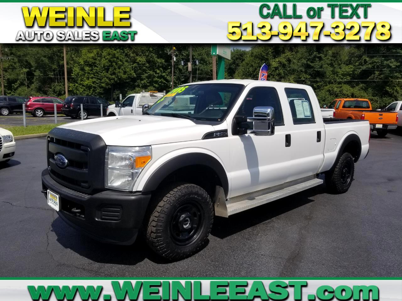 2015 Ford Super Duty F-250 SRW 4WD CREW CAB XL 6.2lt V8