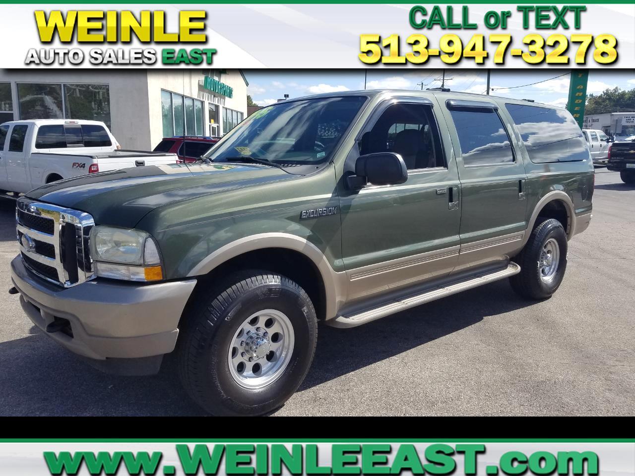 """2003 Ford Excursion 137"""" WB 6.0L Eddie Bauer 4WD"""