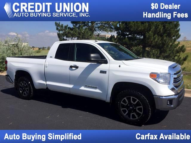 2016 Toyota Tundra 4WD SR5 Double Cab 6.5' Bed 5.7L (Natl)