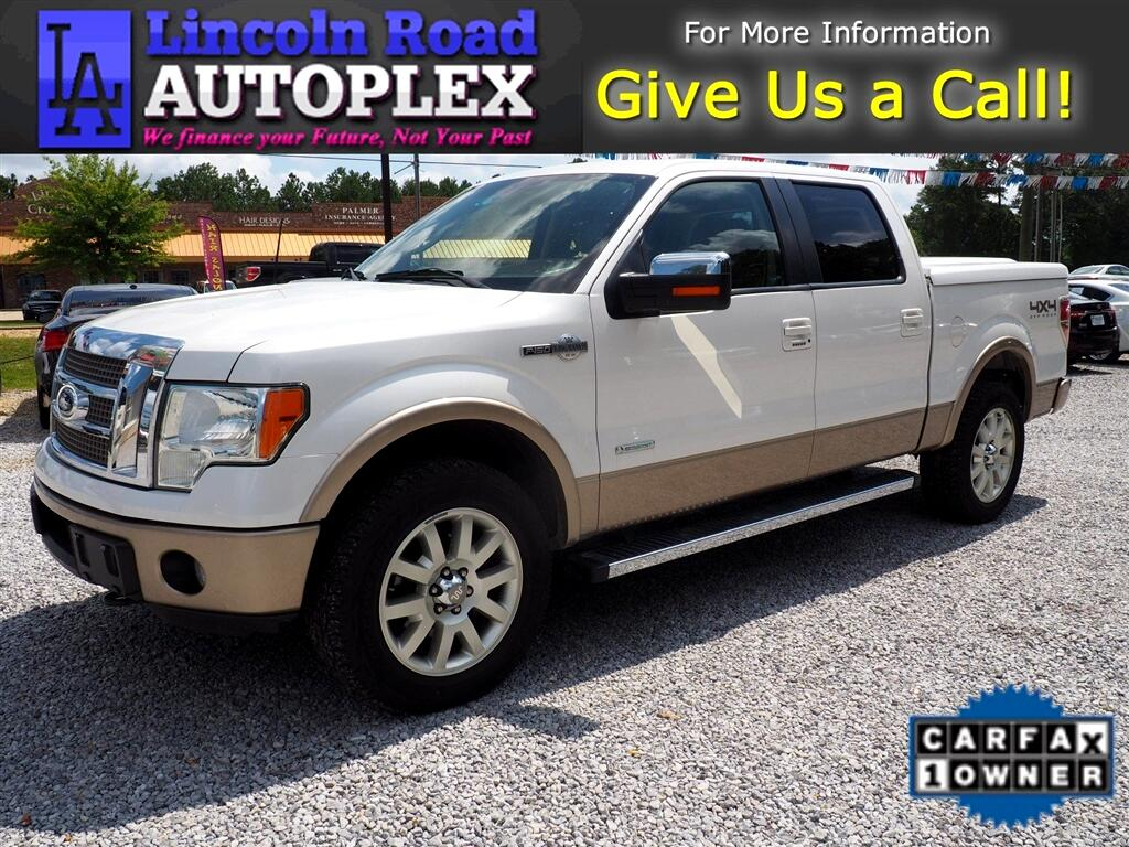 2012 Ford F-150 King Ranch 4WD