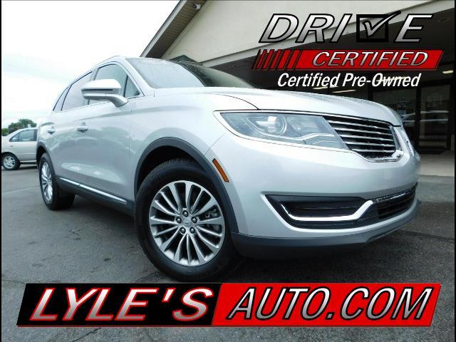 2016 Lincoln MKX Select AWD