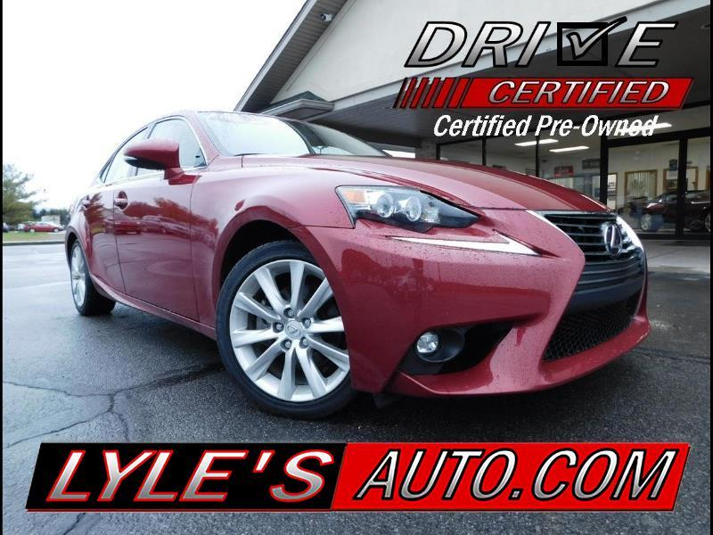 2015 Lexus IS 4dr Sport Sdn AWD