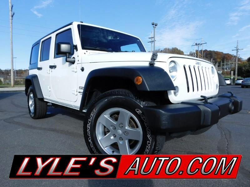 2015 Jeep Wrangler 4WD 4dr Sport