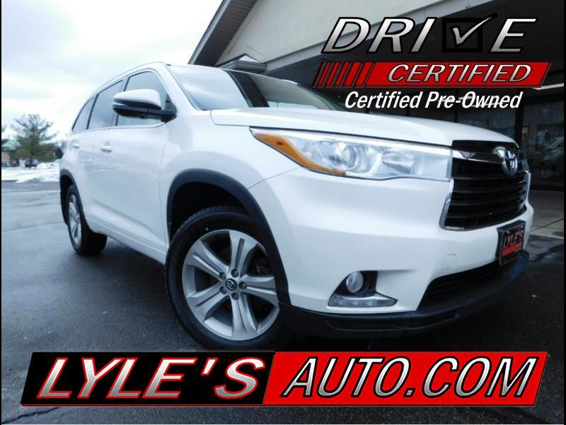 2016 Toyota Highlander AWD 4dr V6 Limited (Natl)
