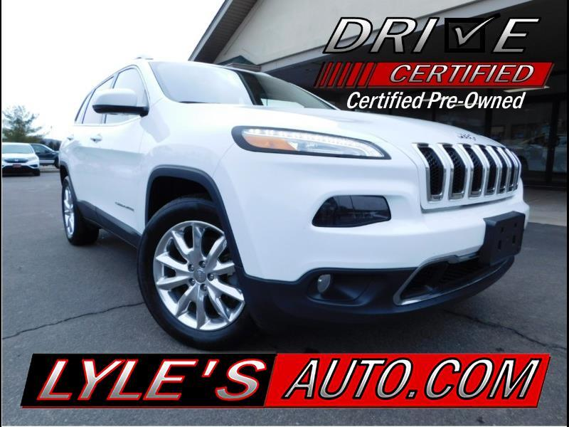 2016 Jeep Cherokee 4WD 4dr Limited
