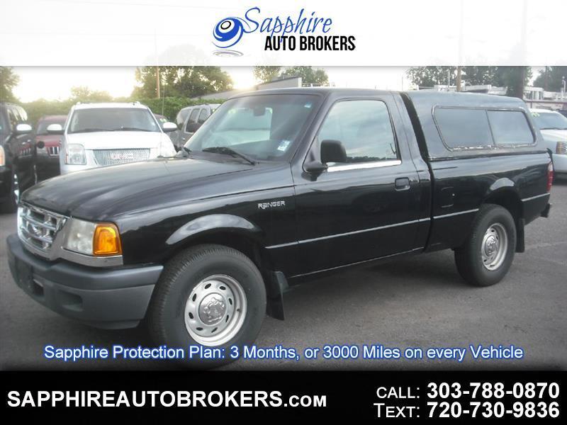 2002 Ford Ranger Reg Cab LWB 2.3L XL Fleet