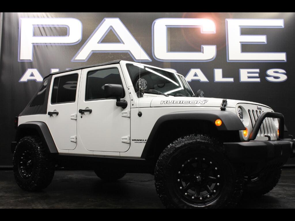 used 2007 jeep wrangler unlimited rubicon 4wd lifted. Black Bedroom Furniture Sets. Home Design Ideas
