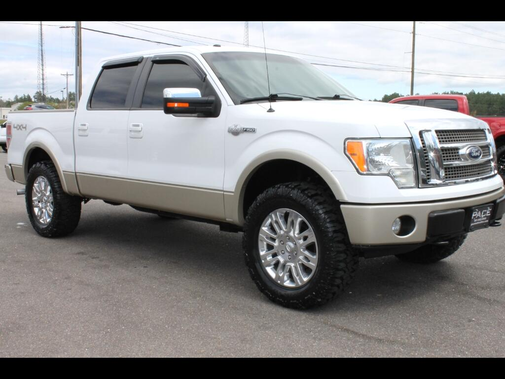 2009 Ford F-150 King Ranch Crew Cab 4WD Leveled