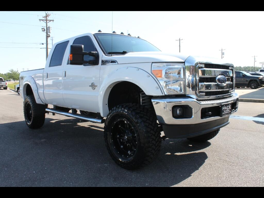 2012 Ford F-250 SD CUSTOM LIFTED LARIAT CREW CAB 4WD