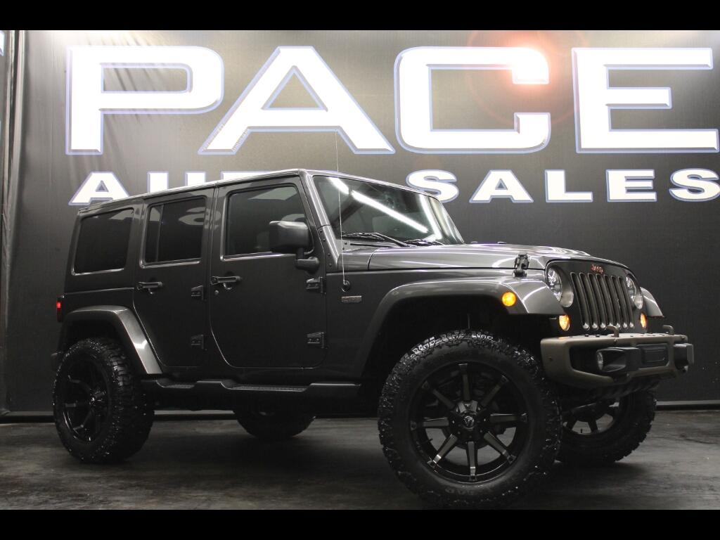 2016 Jeep Wrangler Unlimited Sahara 4WD Lifted 1941 Edition