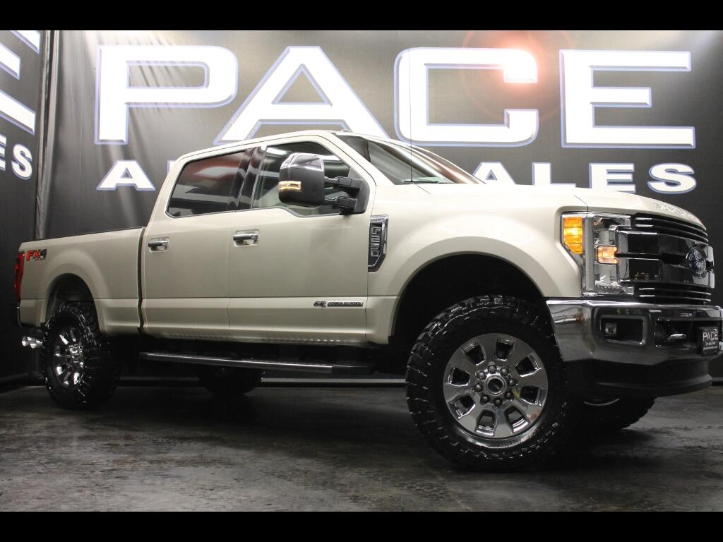 2017 Ford F-250 SD Lariat Crew Cab FX4 4WD Leveled